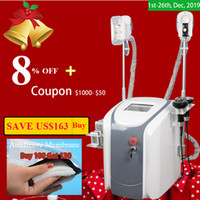 Wholesale laser timing for sale - Group buy fat freezing machine waist slimming cavitation rf machine fat reduction lipo laser freezing heads can work at the same time