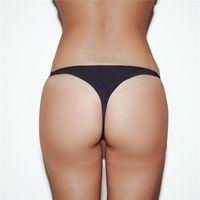 kadın tanga sırtı toptan satış-2019 Seksi Bikini Tanga Mayo Kadınlar Mikro Bikini Altları kadın T-geri Thongs Mayo Kadın Yüzmek Külot Tanga Plaj Kıyafeti