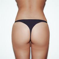 ingrosso costumi da bagno tanga-2019 Sexy Bikini Perizoma Costume da bagno Donna Micro Bikini Bottom Per donna T-back Perizoma Costumi da bagno Femminile Slip da bagno Tanga Abbigliamento da spiaggia
