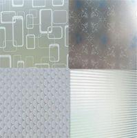 adesivo de filme de banheiro venda por atacado-1 M x 45 CM Janela Porta Privacidade Film Room Casa de Banho Em Casa Adesivo de Vidro de PVC Fosco