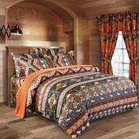 Wholesale boho bedding for sale - Group buy Soft Bohemian Bedding Sets Boho Printed Mandala Single Duvet Cover Set Set Pillowcases Bedsheet Queen Size Bedlinen Home Textile