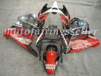 zx6r rojo al por mayor-OEM Calidad Nueva ABS Carenados Moldes de Inyección kits de ajuste del 100% para Kawasaki Ninja ZX6R ZX6R 636 01 2000 2002 Carrocería establecen brillante rojo negro blanco
