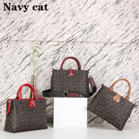 Wholesale simple handbag designs for sale - Group buy black Soft handle Leather handbag New product Casual Zipper hasp design Sheepskin stitching bag fashion Totes Simple