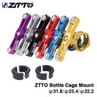 lenker-wasserkäfig groihandel-ZTTO Fahrrad Radfahren Outdoor Wasserflasche Clamp Cage Halter Adapter Unterstützung Übergang Buchse Lenkerhalterung.