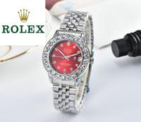 свадебные наручные часы оптовых-Роскошные женские часы оригинальный импортный кварцевый механизм из нержавеющей стали наручные часы многоцветный выбрать высокое качество автоматические часы