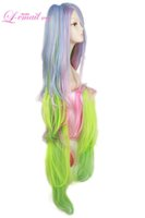 Wholesale life wigs resale online - No Game No Life Shiro Cosplay Wig Crown Prop Long Hair Clip Ponytail Anime Wigs