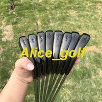3320129fb472 2019 New golf irons Black A3 718 Forged irons set( 3 4 5 6 7 8 9 Pw ) with  Project X6.0 steel shaft 8pcs golf club