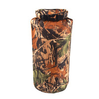 Wholesale dry bag for canoe resale online - Outdoor Portable Camouflage Waterproof Bag Dry Storage For Canoe Kayak Rafting Camping Climbing Bags L LJJZ486