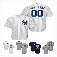 1f5f4a2e4 Men's New York Yankees Majestic Home Gray Road Cool Home White Navy Flex  Base Authentic Collection Custom Jersey