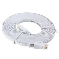 Wholesale network computer cables for sale - Group buy 50 Meters Network Cable RJ45 Durable Cat Computer Ethernet Flat
