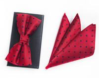галстуки-бабочки оптовых-Классический стиль Пейсли лук 2019 новый мужской галстук установить Шуры галстуки Гравате Corbatas Красный темно-синий золотой серебряный розовый небо в горошек галстук
