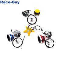 Wholesale intake throttle for sale - Group buy Racing Carburetor Air Filter Gas Throttle Cable Intake Mainfold For Stroke cc cc Mini Moto ATV Quad Pocket Bike