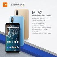 a2 cep telefonu toptan satış-Küresel Sürüm Xiaomi Mi A2 Lite 4 GB 64 GB 5.84