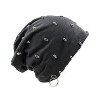 ingrosso beanie in vendita-Coppie cappello di vendita calda della mascherina di modo Cappelli Inverno Primavera Sport Berretti casual Skullies Marca cappelli lavorati a maglia Hip Hop trasporto libero