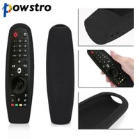 tv inteligente à prova d'água venda por atacado-Capa protetora à prova de choque de silicone para LG Smart TV Controle Remoto AN-MR600 Novo Anti-Scratch, impermeável, lavável.