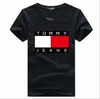 ropa de color al por mayor-Nueva marca de negocios Camisetas hombres mujeres 9 camisas de color más el tamaño Casual T Shrits Cuello redondo de manga corta al aire libre poloshirt Ropa de golf jt
