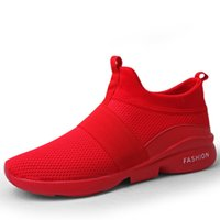 gute sommerturnschuhe großhandel-Fotwear Herren Sport Laufstil Sneakers Herren Freizeitschuhe Gute Lauferfahrung tnis masculino Sommerschuhe high top