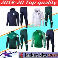 полный зеленый костюм оптовых-2019 2020 Palmeiras футбольный пиджак спортивный костюм Chandal 19 20 GREEN DUDU G.JESUS ALECSANDRO Palmeiras футбольный пиджак полный тренировочный костюм