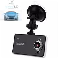 carro de laço venda por atacado-FHD 108P DVR carro preto Painel Night Vision Camera Vídeo Loop Recorder Gravação Mini traço Cam DVRs