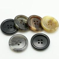 molienda de resina al por mayor-200 unidades / lote 15 mm Botones de resina mate de alta calidad para hombre, traje negro, chaqueta de moda, accesorios, botón de fábrica, vestido de venta al por mayor botón