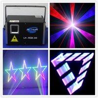 cartes sd royaume uni achat en gros de-Système d'éclairage laser 3D RGB 2W avec carte SD et logiciel ishow gratuit sur carte SD pour extérieur et intérieur
