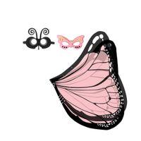 ingrosso spedizione stella dell'oceano-Cute Butterfly Cloak Mask Hair Band Headwear Event Party Costumi per bambini Holloween Stage Wear Giochi all'aperto Tendenze mascotte dei bambini