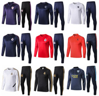 Wholesale soccer beds for sale - Group buy new Mexican Club Americas Chivas Monterrey River bed Real Madrid men s soccer tracksuit adult training suit tights