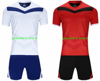 Wholesale personalized soccer jersey for sale - Group buy Top personalized Men s Mesh Performance Discount Cheap buy athentic sports fan clothing Customized Soccer Jersey Sets With Shorts wears