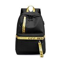 okul için kumaş sırt çantaları toptan satış-Wobag Su Geçirmez Kumaş Kadınlar Günlük Sırt Çantası Rahat Baskı Okul Sırt Çantası Koleji Kız Erkek Dizüstü Dayback Y19051405
