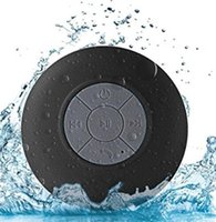 Wholesale 2019 New Fashion Mini Bluetooth Speaker Portable Waterproof Wireless Handsfree Speakers For Showers Bathroom Pool Car Beach Outdo