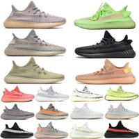 Wholesale kanye west shoes sale for sale - Group buy 2020 Sale Cloud White Citrin Antlia Synth Lundmark Black Static GID Clay Cream White Zebra running shoes Kanye West mens designer shoes