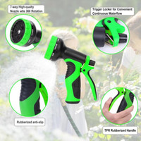 Wholesale expandable hose resale online - 25 FT Garden Hose Expandable Water Pipe Car Wash Water Gun Set For Car Washing Cleaning Lawn Garden Watering