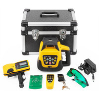 Digital Self Leveling Laser Level Green Beam Rotary Rotating Leveling Automatic Kit 500M Range Remote Control Receiver Case