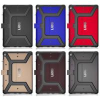 gummi-schutzhüllen für tabletten großhandel-Für iPad Pro 9.7 10.5 Air2 Mini 2018 Anti Shock mit Apple Stifthalter Hign Qualität Basketball-Beschaffenheit Flip Abdeckungs-Fall