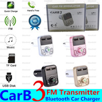 Wireless FM Transmitter Modulator Bluetooth Handsfree Car Kit Audio MP3 Player 2.1A 2 USB Port TF Card Car Styling Car Charger