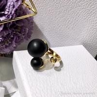 ingrosso anelli per grandi dita-Anelli di apertura della perla simulati eleganti di modo dell'anello brandnew dei monili grandi anello del dito di sconto dei monili