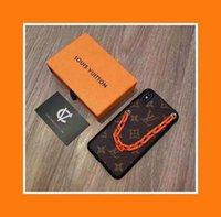 serpientes de plástico duro al por mayor-Fundas de teléfono de diseñador de lujo para Iphone 11 Pro Max 6 7 8 plus xs Max XR pulsera de moda Cuero de PU envío directo