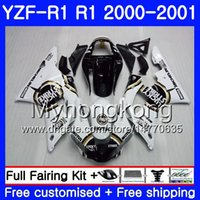 Wholesale 24 frames for sale - Body For YAMAHA YZF YZF R YZF YZFR1 Frame HM YZF R1 Bodywork hot Lucky Strike YZF1000 YZF R1 Fairing