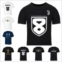 ingrosso maglia blu grigio-Men w8nderful 37 Campioni D'italia Tees T-shirt calcio tifosi blu grigio nero