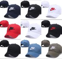 klasik beyzbol kapakları toptan satış-2019 klasik Golf Kavisli Visor Lüks tasarımcı şapka Vintage Snapback kap erkek Spor baba gorras şapka Hip hop kemik Beyzbol Kapaklar casquette