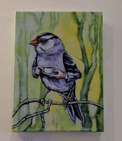 Wholesale canvas prints hd quality resale online - OLD SAM PEABOBY TAKES TEA High Quality Handpainted HD Printed Abstract Animal Birds Wall Art oil painting On Canvas Multi Sizes Options