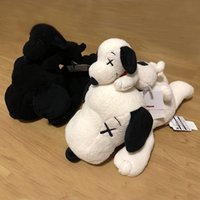 beste neue hundespielzeug großhandel-New kaws Snoopy Surprise Bull dog Plüschtiere Kuscheltiere Husky Key Ring Plüsch Rucksack Zubehör Best Girls For Kids