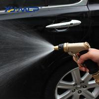 Wholesale pressure tyres resale online - Car Wash Water Gun Multifunction High Pressure Car Cleaning Pressure Washer Shower Water Column Adjustable Cleaning Tyre Xammep