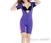 ingrosso body pops-Plus2019 Pop Donna Body Zipper Design di un pezzo Body Abbigliamento Sollevamento Glutei Addome petto Bellezza Body Curve Abbigliamento
