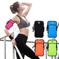 Wholesale smartphone sports armband for sale - Group buy Outdoor Sports Running Gym Sport Armband Case phone Arm Band Bag Holder for inch mobile phone Smartphone on Hand