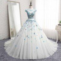imagens de designer dresses real venda por atacado-Novo Designer de vestido de baile quinceanera vestidos sweet 16 dress vestidos de 15 vestido de debutante pageant vestidos de baile real pictures