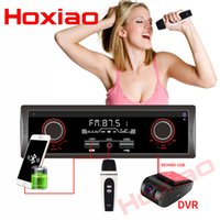 Wholesale song mp3 player for sale - Group buy HOXIAO din car FM AM Radio V Bluetooth Car Stereo MP3 Audio Player V Charger USB Can K song AUX auto Radio