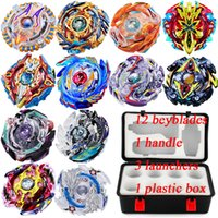 Wholesale beyblades toys for sale - Group buy Beyblade fidget spinner box Beyblade burst Beyblades Metal Fusion Arena D bey blade Launcher Spinning Top Beyblade Toy For kids Toys