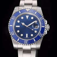 Wholesale automatic mens watch sub resale online - Casual mm Sapphire Glass Hulk green anniversary Ceramic bezel limited SUB Stainless Glide lock automatic mechanical Mens Watch