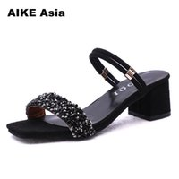 Wholesale casual wedding dresses plus woman for sale - Designer Dress Shoes Plus Size High Heels Women Fashion Sandals Pumps Summer Sexy Ladies Casual Wedding Ankle Strap